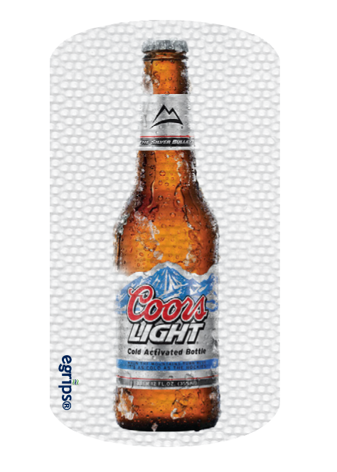 Coors Light Floating Clear Background