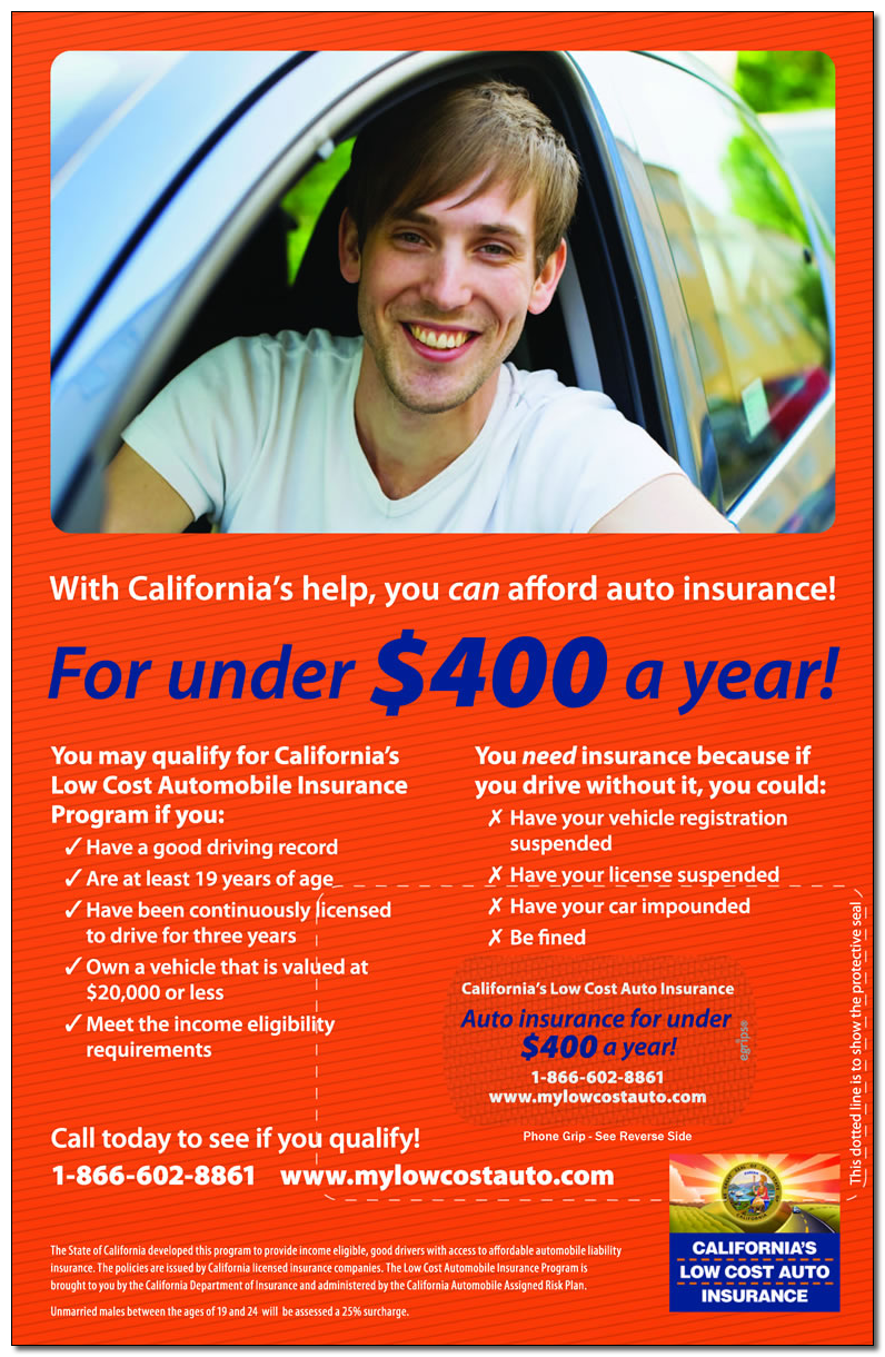 Low Cost Auto Insurance >> California Low Cost Auto Insurance
